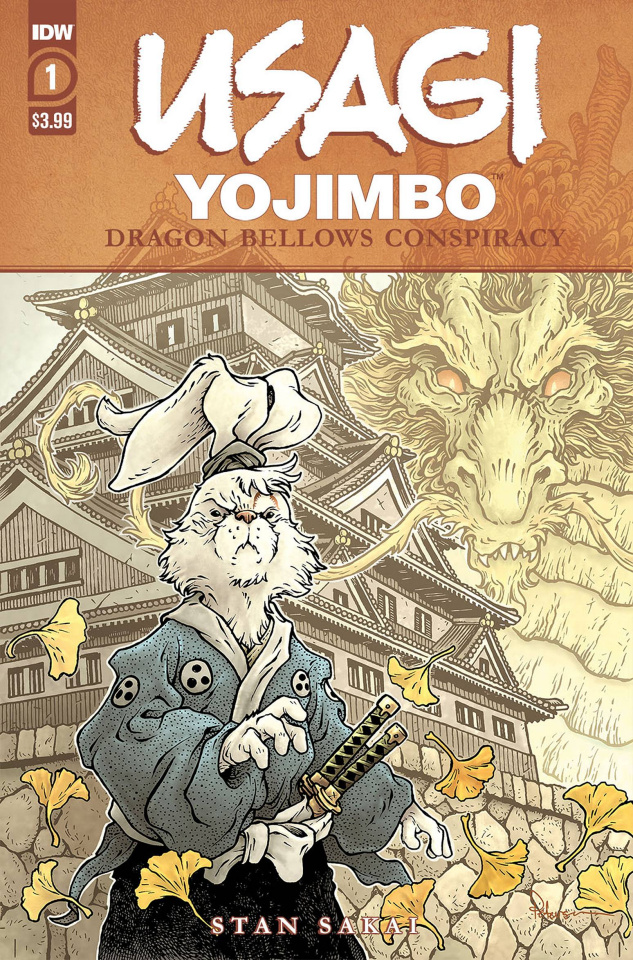 Usagi Yojimbo: Dragon Bellow Conspiracy #1
