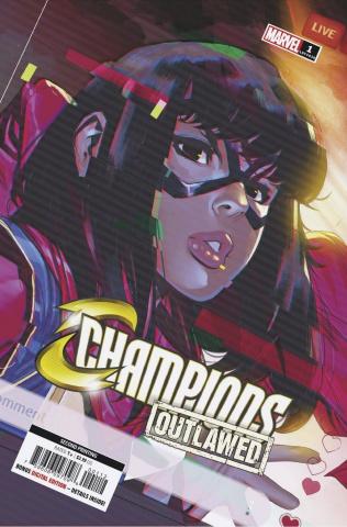 Champions #1 (2nd Printing)