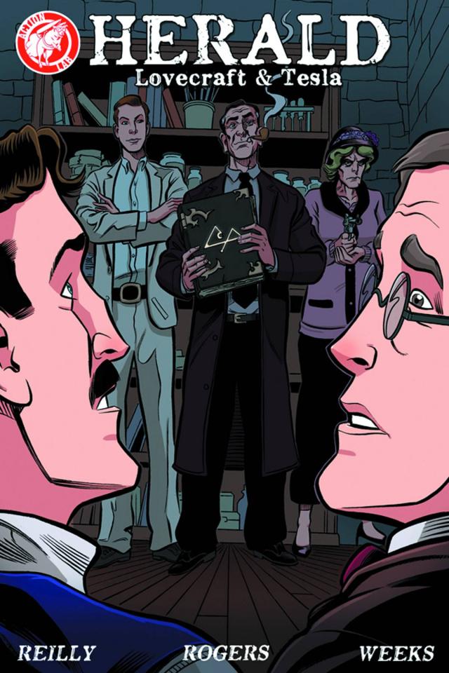 Herald: Lovecraft & Tesla #3