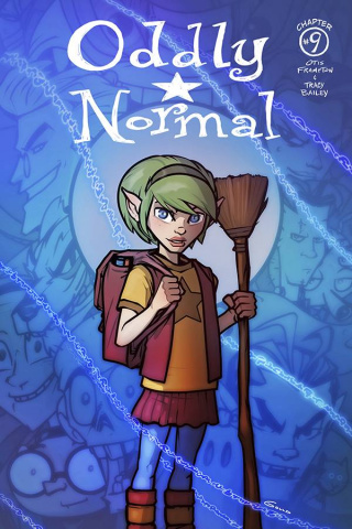 Oddly Normal #9 (Gould Cover)