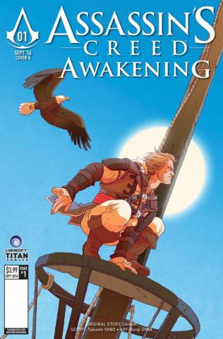 Assassin's Creed: Awakening #1 (Brown Cover)