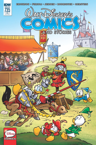 Walt Disney's Comics and Stories #735 (10 Copy Cover)