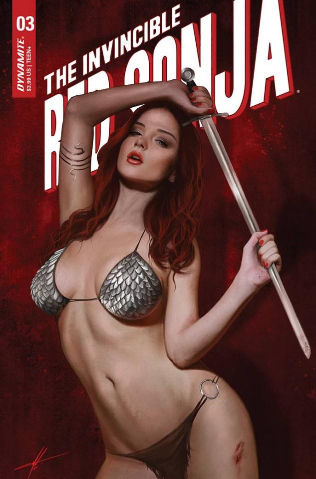 The Invincible Red Sonja #3 (10 Copy Cohen Trade Dress Cover)