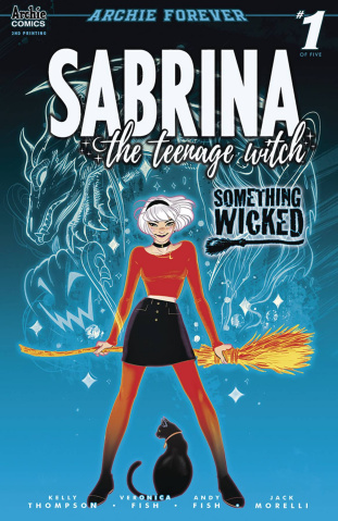 Sabrina: Something Wicked #1 (2nd Printing)
