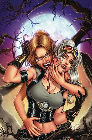 Van Helsing vs. Dracula's Daughter #4 (Riveiro Cover)