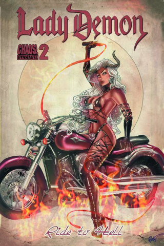 Lady Demon #2 (Poulat Bombshell Cover)