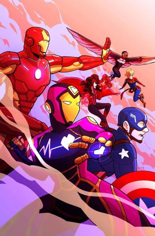 Marvel Action: Avengers #2 (Reyner Cover)