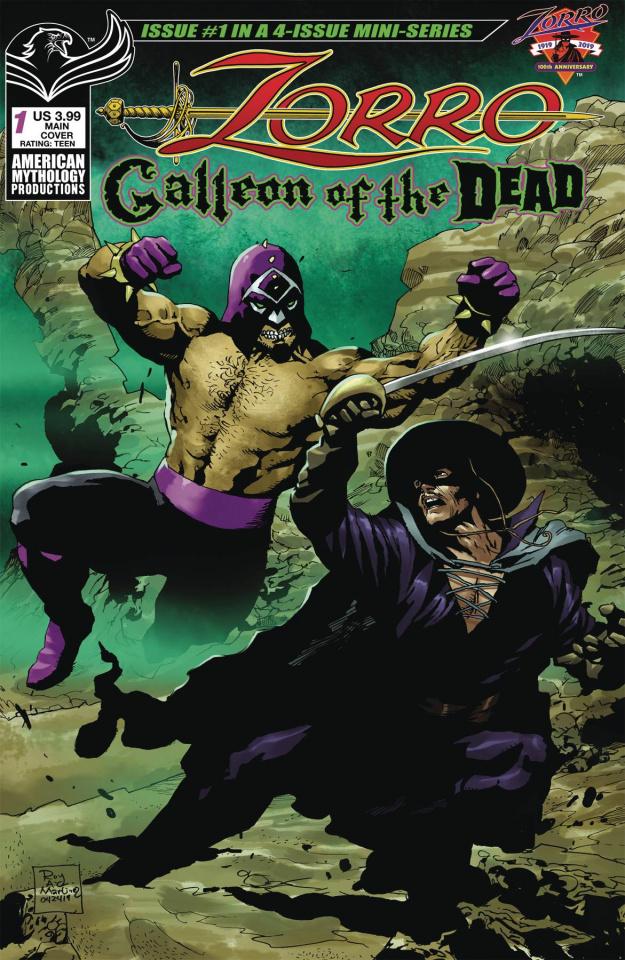 Zorro: Galleon of the Dead #1 (Martinez Cover)