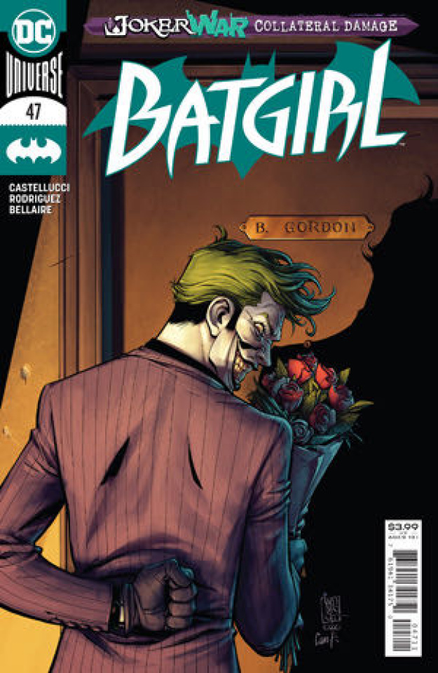 Batgirl #47 (Giuseppe Camuncoli Cover)
