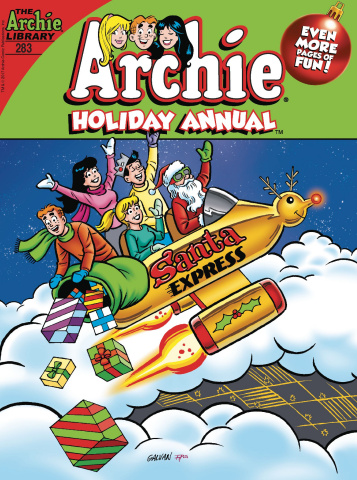 Archie Comics Annual Digest #283