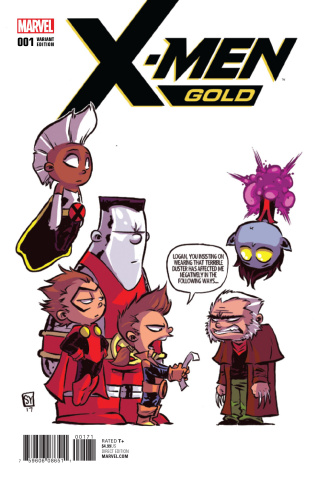 X-Men: Gold #1 (Young Cover)