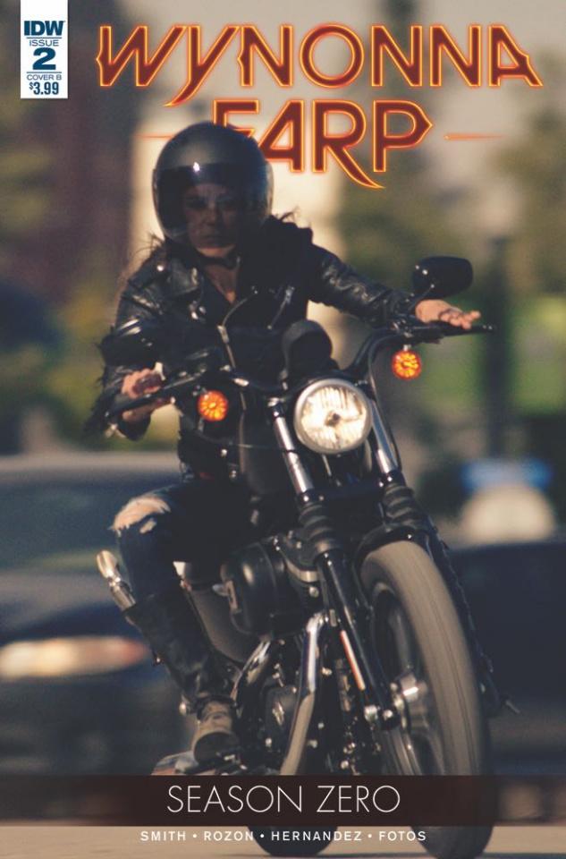 Wynonna Earp, Season Zero #3 (Photo Cover)