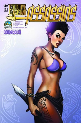 Executive Assistant: Assassins #4 (Oum Cover)