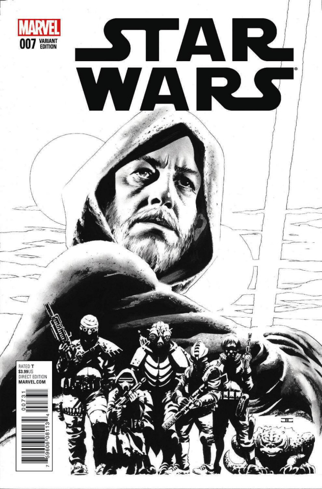 Star Wars #7 (Cassaday Sketch Cover)