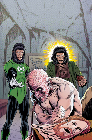 The Planet of the Apes / The Green Lantern #4 (20 Copy Rivoche Cover)