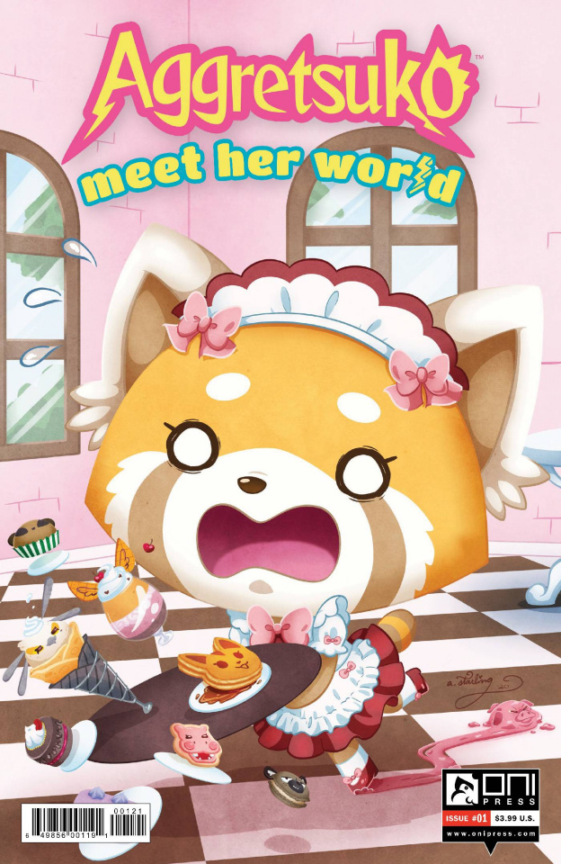 Aggretsuko: Meet Her World #1 (Starling Cover)