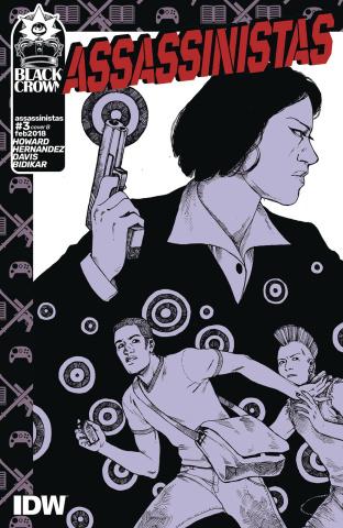 Assassinistas #3 (Koch Cover)