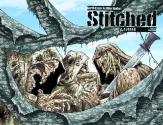 Stitched #6 (Wrap Cover)