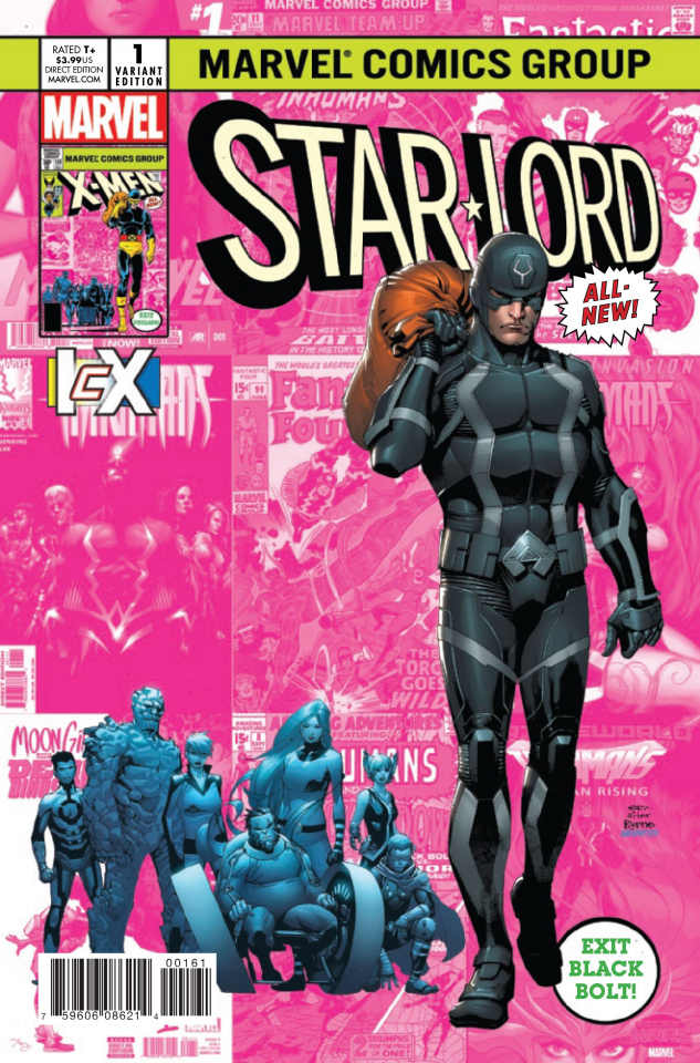 Star-Lord #1 (Stevens IcX Cover)