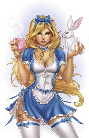 Grimm Fairy Tales: Alice - 10th Anniversary Special #3 (Pantalena Cover)