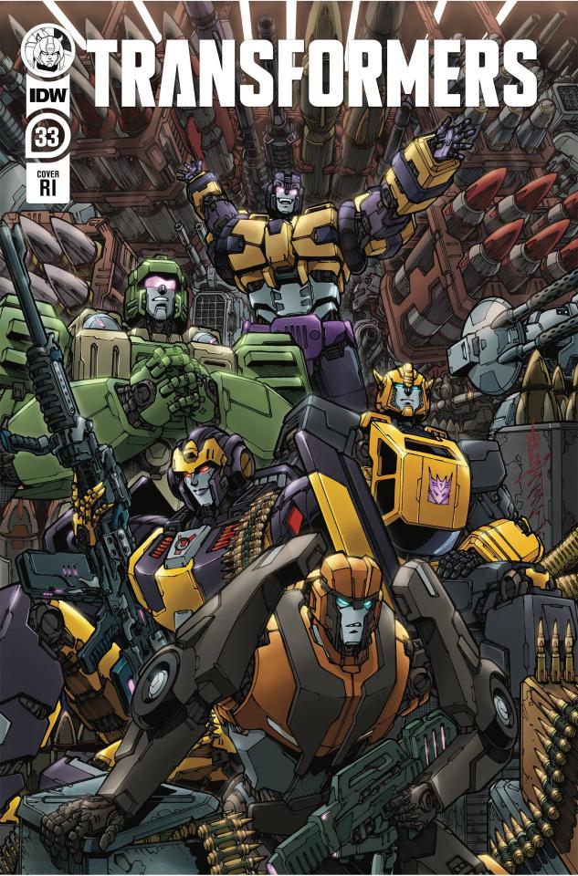 The Transformers #33 (10 Copy Alex Milne Cover)