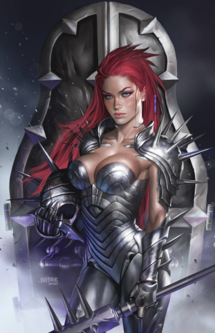 Robyn Hood: Iron Maiden #2 (Burns Cover)