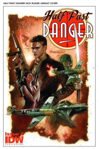 Half Past Danger #4 (Subscription Cover)