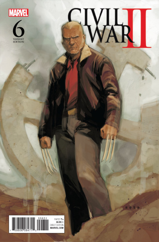 Civil War II #6 (Noto Old Man Logan Cover)
