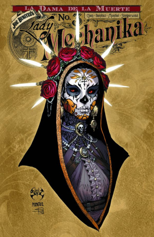 Lady Mechanika: La Dama De La Muerte #3 (10 Copy Cover)