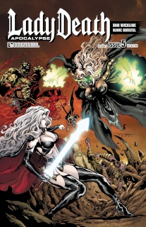 Lady Death: Apocalypse #5 (Auxiliary Cover)