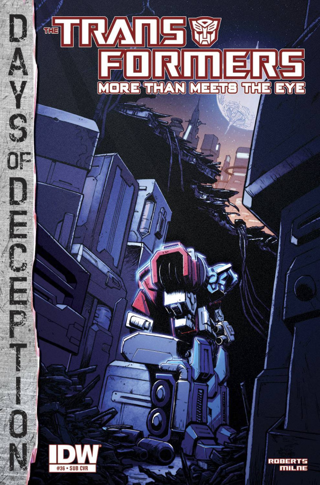 The Transformers: More Than Meets the Eye #36 (Subscription Cover)