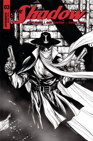 The Shadow #3 (30 Copy Kirkham B&W Cover)