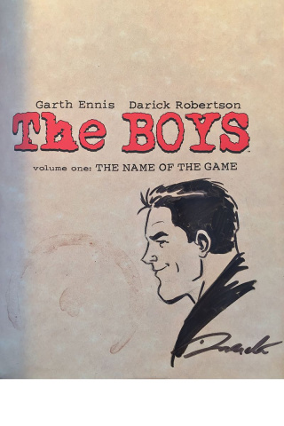 The Boys Vol. 1 (Robertson Signed & Remarked Omnibus)