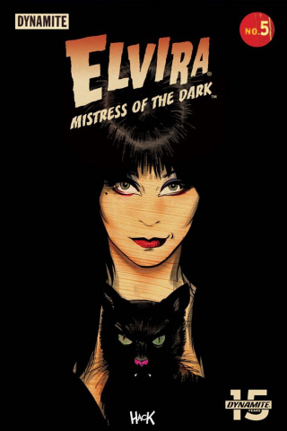 Elvira: Mistress of the Dark #5 (Hack Cover)
