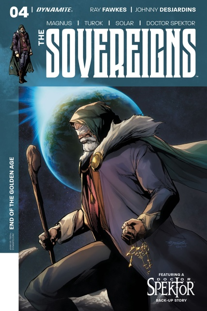 The Sovereigns #4 (Segovia Cover)