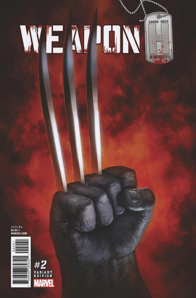 Weapon H #2 (Skan Cover)