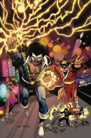 Black Lightning / Hong Kong Phooey Special #1