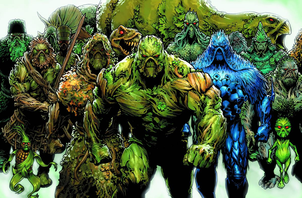 Swamp Thing #40