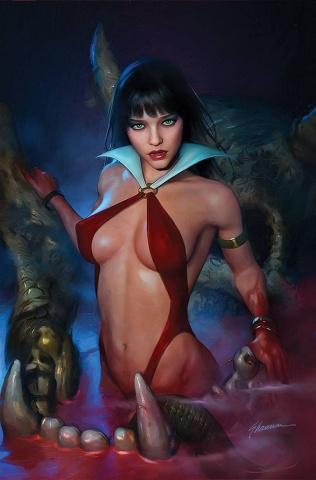 Vampirella #23 (Maer Virgin Cover)