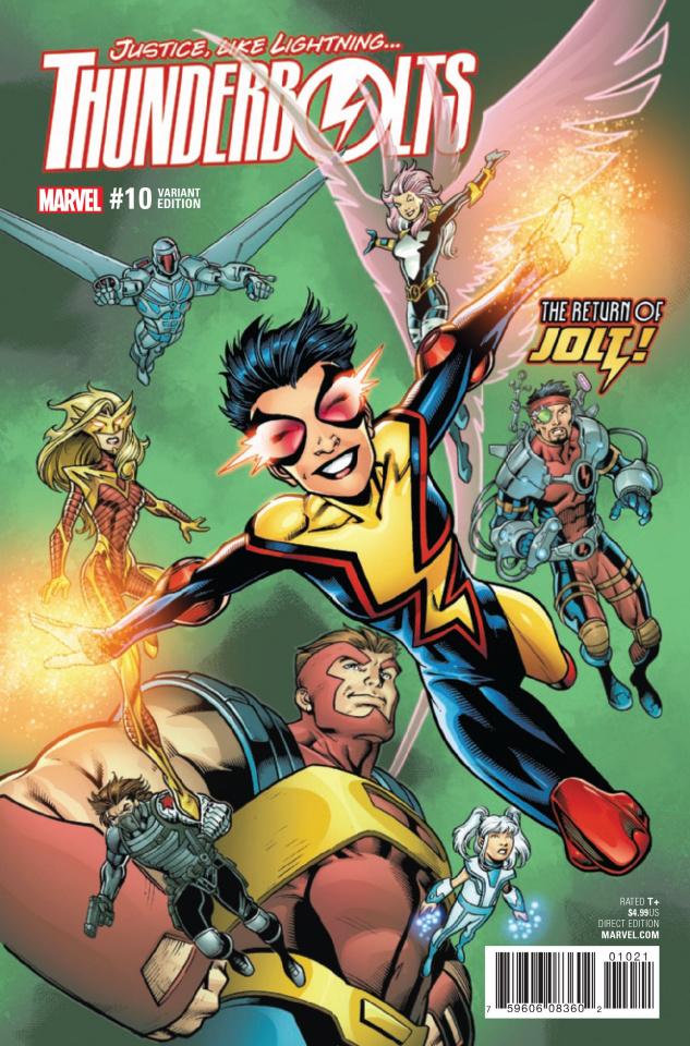 Thunderbolts #10 (Bagley Cover)