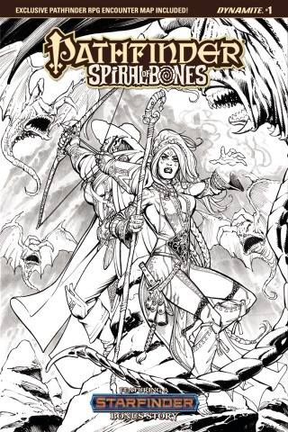 Pathfinder: Spiral of Bones #1 (30 Copy Santucci Cover)