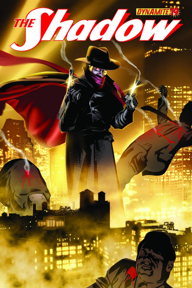 The Shadow #19 (Calero Cover)