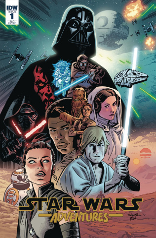 Star Wars Adventures #1 (50 Copy Cover)