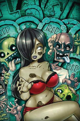 Zombie Tramp #76 (Toqueen Risque Cover)