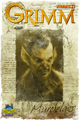 Grimm #1 (Midtown Cover)
