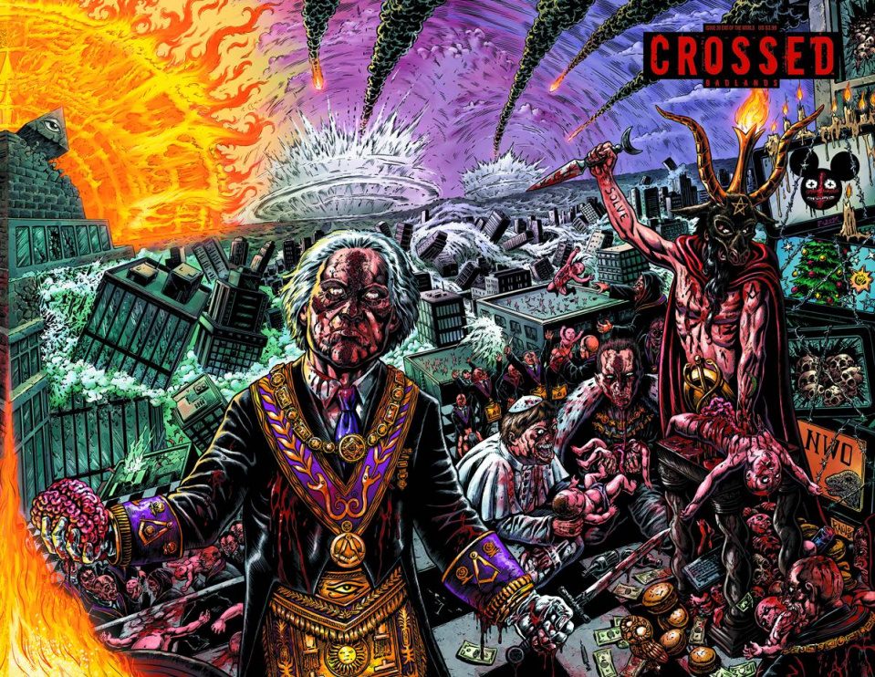 Crossed: Badlands #20 (End of the World Cover0