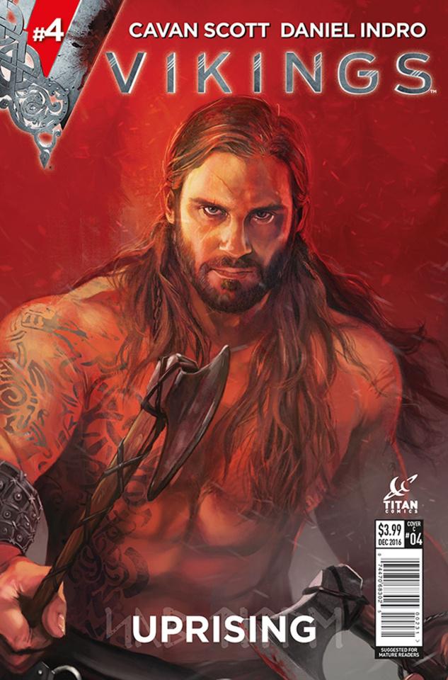 Vikings: Uprising #4 (Caranfa Cover)