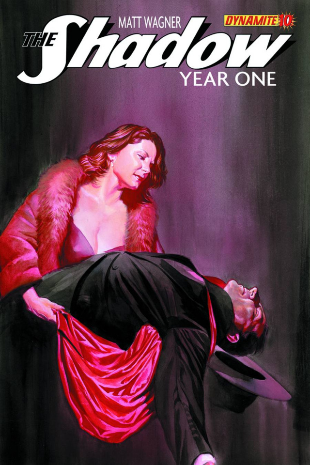 The Shadow: Year One #10 (Ross Cover)