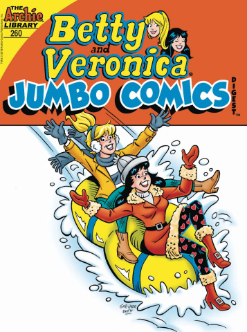 Betty & Veronica Jumbo Comics Digest #260