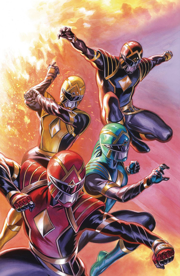 Mighty Morphin' Power Rangers #45 (Showcase Variant Cover)